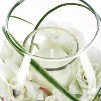 Свещник с цветя - La Maison
