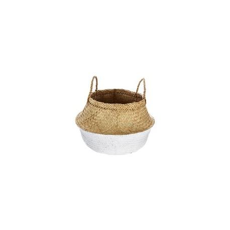 Плетена кашпа 40 см.  - La Maison