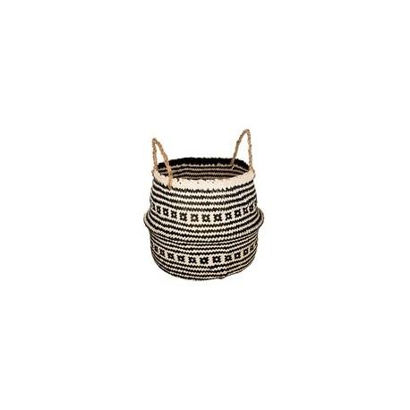 Плетена кашпа с дръжки - La Maison