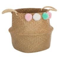 Плетена кошница за съхранение Помпон - La Maison