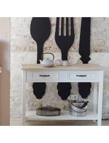 Декорация лъжица за стена  в. 77.5 см  - La Maison