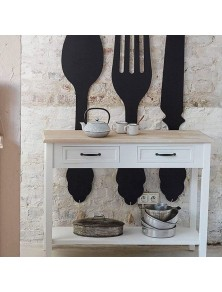 Декорация нож за стена  в. 77.5 см  - La Maison