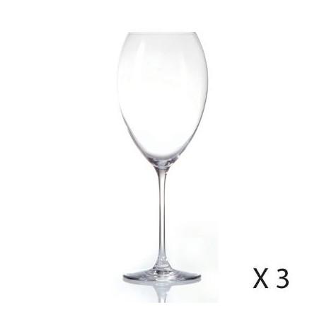 комплект чаши за вино 3бр. Нера