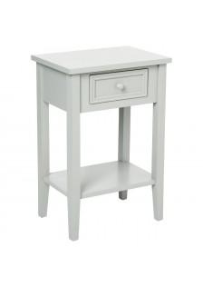 Нощно шкафче Шарм, цвят Таупе - La Maison