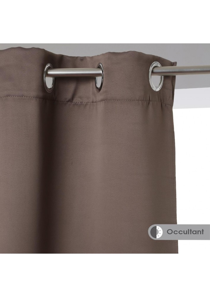 Затъмняващи завеси , цвят таупе , 135 х 240 , 2 бр. в комплект -  La Maison