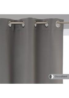 Затъмняващо перде , цвят сиво  135 х 240 , 2 бр. в к-т  - La Maison