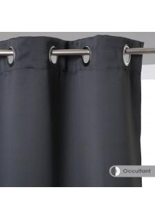 Затъмняващи завеси , цвят тъмно сив , 135 х 240 , 2 бр. в комплект -  La Maison