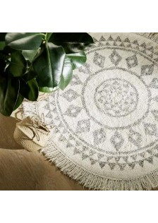 Кръгъл килим Етник , д.120 см.- La Maison