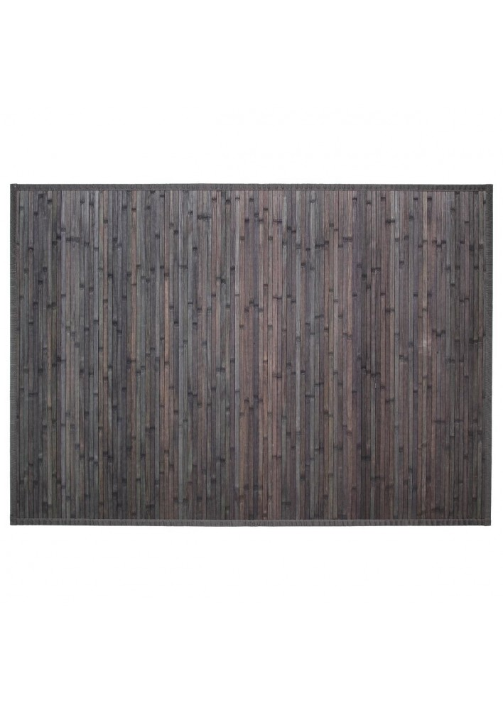 Килим  от бамбук  50  х 80  см., цвят сиво - La Maison