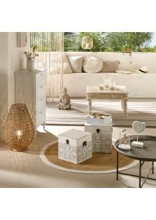 Кръгъл килим Бланко д.120 см.- La Maison
