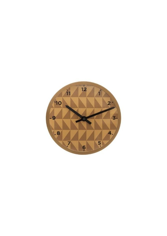 Пластмасов часовник Геометрик д.11 см. - La Maison