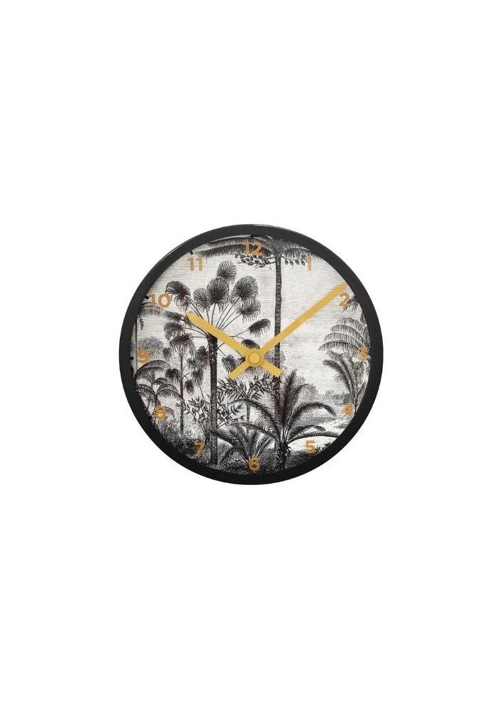 Пластмасов часовник  Тропик  д.22 см. - La Maison