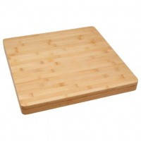 Бамбукова дъска за рязане 37 х 37 см.  - La Maison