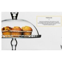Стъклен поднос за сладкиши - La Maison