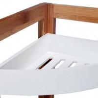 Ъглова етажерка за баня 3 нива  - La Maison