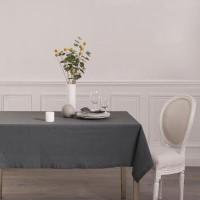 Покривка за маса Шамбрей  , сива 140 х 240 см. - La Maison