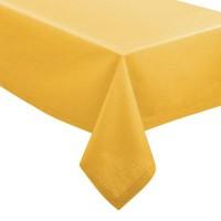 Покривка за маса Шамбрей  , цвят горчица 140 х 240 см. - La Maison