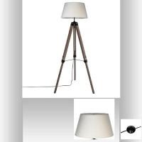 Лампа триножник Руно , цвят Лен - La Maison