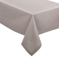 Покривка за маса Шамбрей  ,светло  сива 140 х 240 см. - La Maison