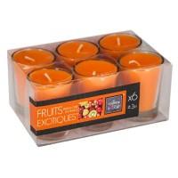 Ароматни свещи Екзотични плодове 6 бр.комплект-  La Maison