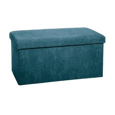 Сгъваем пуф - кутия  Велвет 76 см. - La Maison