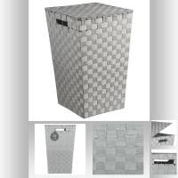Кош за пране Муста сив  - La Maison