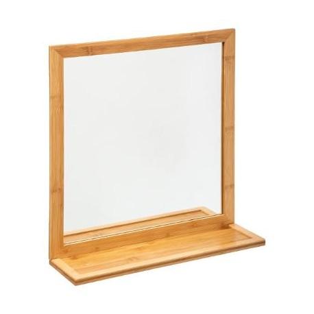 Огледало бамбук за баня - La Maison