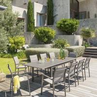 Градинаска, разтегателна маса Азуа ,цвят тонка 160 /254 см- La MAison