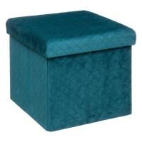 Сгъваема табуретка Пуф - кутия Велвет 31 х 31 -  La Maison
