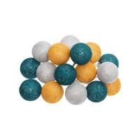 Лед топки за декорация 16 бр. х 3.5 см. - La Maison