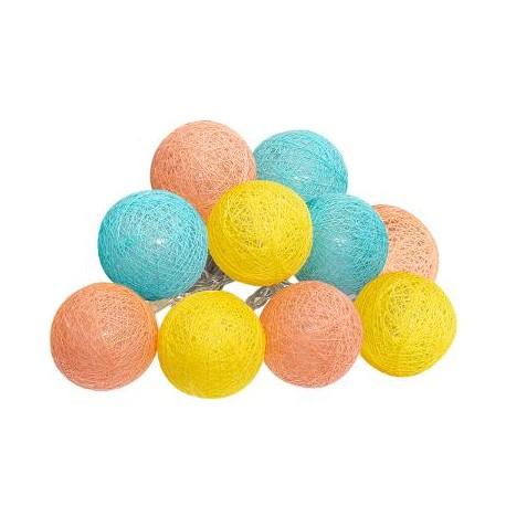 Лед топки за декорация 10 бр. х 6 см. - La Maison