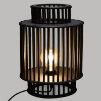 Лампа Ликса бамбук 35 см.  -La Maison
