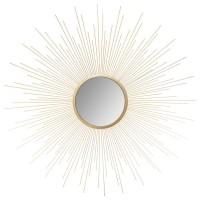 Огледало Слънце  Голд д.70 см.- La Maison