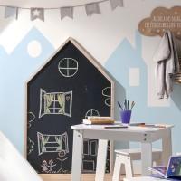 Черна дъска къщичка - La Maison