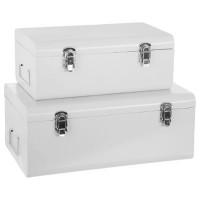 Куфари за съхранение 2 бр. комплект Уайт - La Maison